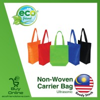 Non-Woven Carrier Bag (B0088) [ 5pcs Mixed Colors ]