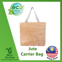 Jute Carrier Bag (B0127)