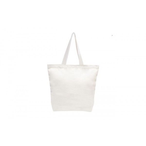 Canvas Carrier Bag-Natural (B0348)