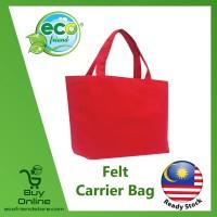 Felt Carrier Bag (Red) (B0126-RE)