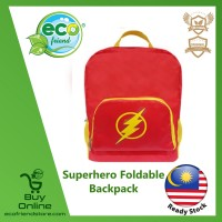 Superhero Foldable Backpack (Flash) (ESH013-FL)