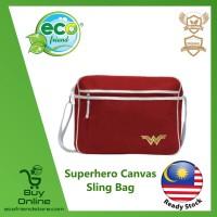 Superhero Canvas Sling Bag (Wonder Woman) (ESH014-WW)