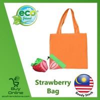 Foldable Fruit Strawberry Bag (B0360)