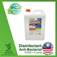 FilteX / FightBac Disinfectant Disinfectant Liquid Solution 5 Litres [ LW0089 / LW0091 ]