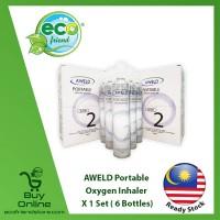 [ LOCAL READY STOCK ]  AWELD Portable Oxygen Inhaler (99.5% Purity)  [ LW0152 ] Ecofriend